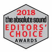 Editors Choice Award 2018 Absolute Sound