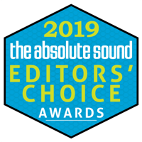 Editors Choice Award 2019 Absolute Sound